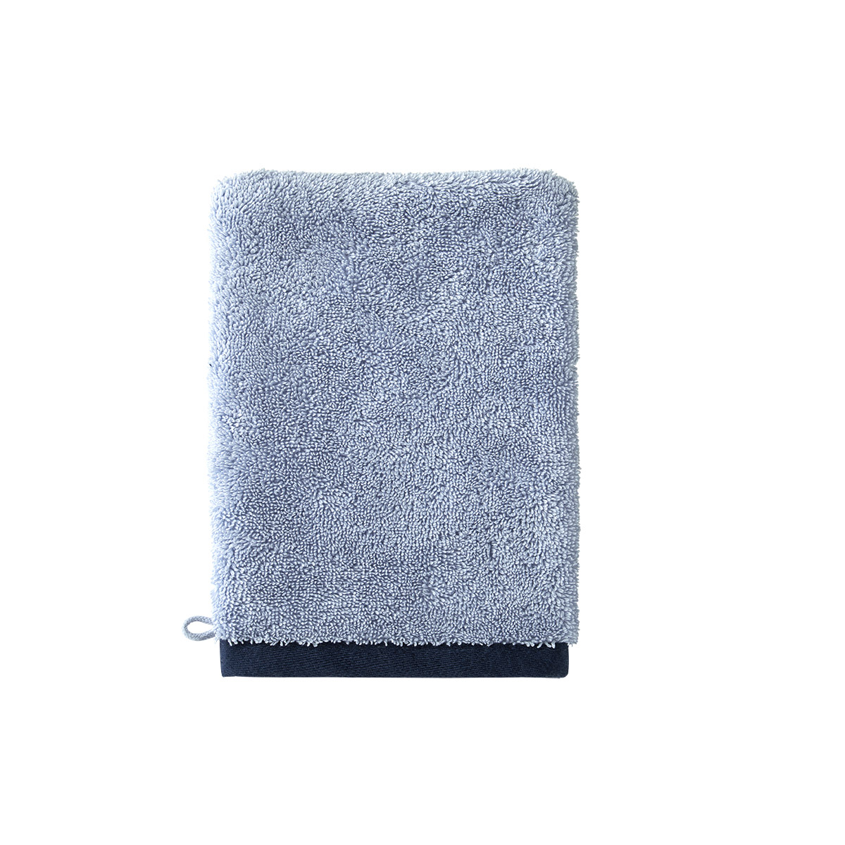 Boss home - gant de toilette coton peigné 550 g/m² multic...