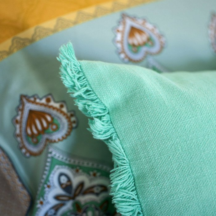 Coussin SHAKER -Menthe