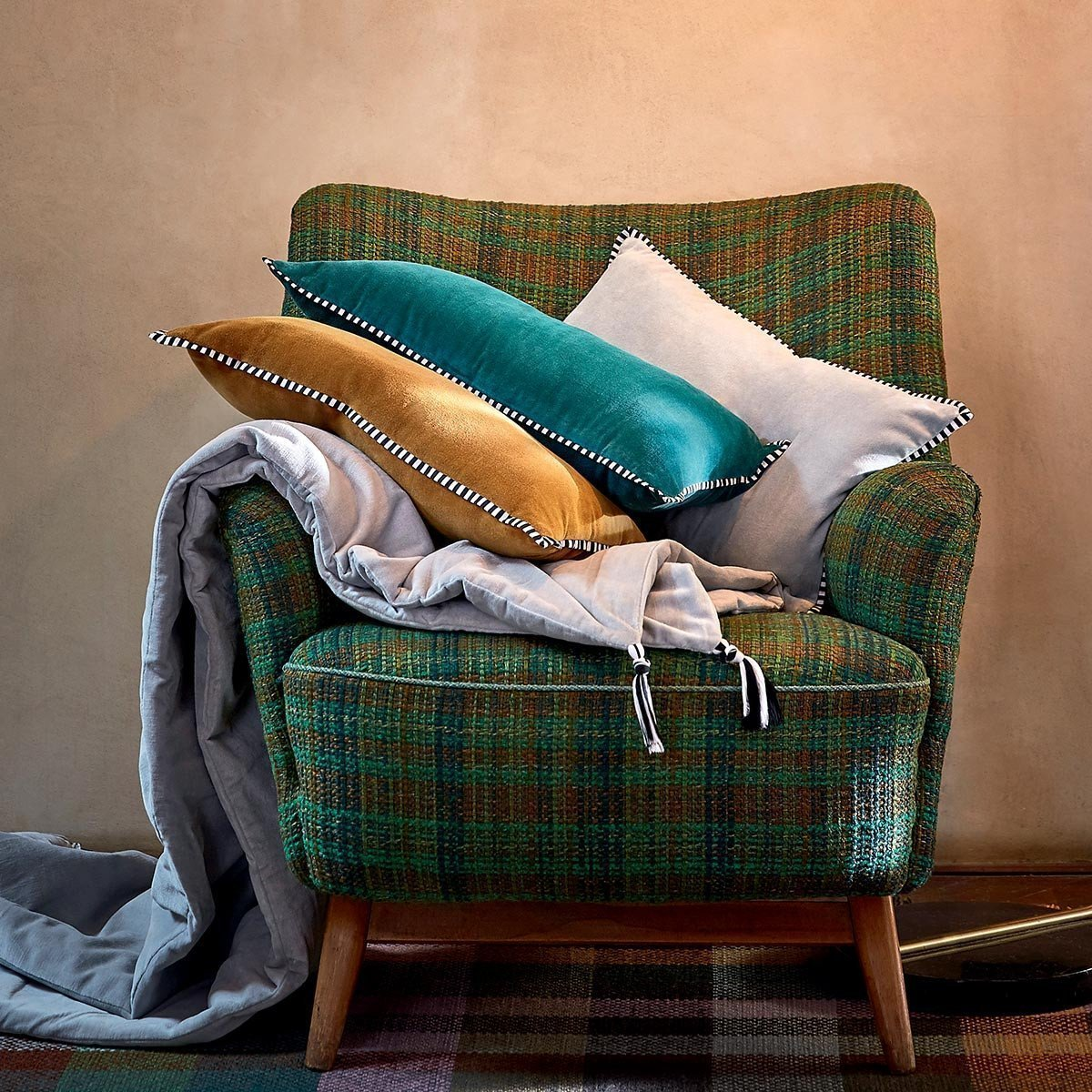 Coussin PAVANE -Gold